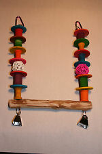 JK124 Parrot Toy Small Hanging Swing (for small Birds)