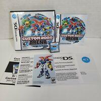 Custom Robo Arena Nintendo DS 2007 CIB Complete Video Game Manual Cartridge