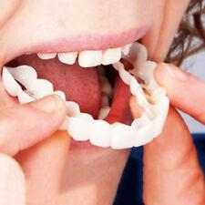 2Pcs Flex Cosmetic Teeth Fake Tooth Cover Protector Dental False Natural Snap