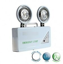 Digiteck Non-Maintained Twin Emergency Light 2x 1Watt LED Light