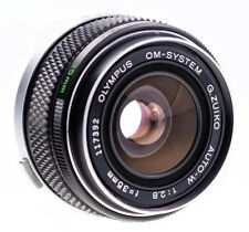Olympus OM 35 mm f 2,8 G - Zuiko Auto - W / Silbernase / TOP Prime Lens  ( 643 )
