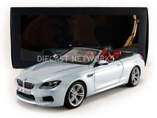 Paragon Models 2012 BMW M6 CABRIOLET (F12) Silver Metallic Dealer Edition 1/18
