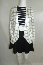 Polyester Hand-wash Only Geometric Coats & Jackets for Women