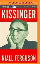 Kissinger Vol. 1 : The Idealist, 1923-1968 by Niall Ferguson (2016, MP3 CD,...