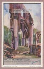 Orval  Belgium  Abbey Church Arc De La Nef Centrale 1930s Trade Ad Card