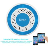 100dB Wireless Home Sound and Light Strobe Siren for WIFI GSM Alarm Panel System