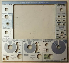 Tektronix Sc503 Front Panel