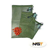 Carp Fishing Boilie Air Dry Mesh Bait Bag Small or Large