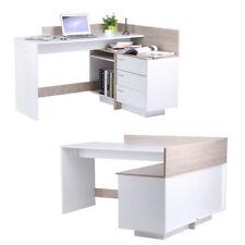 Eck-Schreibtisch EICHE Schreibtisch Computertisch Eckschreibtisch PC-Tisch RA