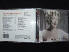 CD MARLENE DIETRICH / LIVE AT THE CAFE DE PARIS / LONDON 1954 /