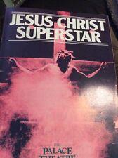 Jesus Christ Superstar   -  Palace Theatre Manchester Programme - 1986