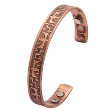 Unisex Pure Copper Magnetic Bangle-Bracelets Arthritis-Pain Relief Mens Bio