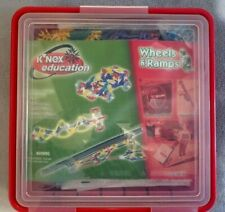 Knex Red Box set 75622 -Wheels & Ram 100% Complete - Free Fast Shipping
