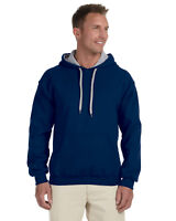 Gildan Heavy Blend Pullover Hoodie 8 oz  50/50 Contrast Sweatshirt G185C