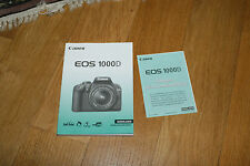 Canon EOS 1000D Nada no especificado Holländisch Instructie Handleiding