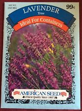 "Vegetable Seeds Gardening Planting "" Lavender � Herb  American Seeds"