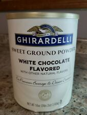 Ghirardelli Chocolate Sweet Ground White Chocolate Flavor Beverage Mix, 50 Ounc