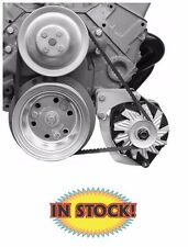 Alan Grove Small Block Chevy Low Mount Alternator Bracket Driver Side SWP - 206L