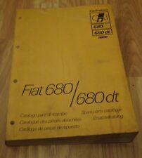 Fiat 680 / 680dt Spare Parts Catalogue 1st edition