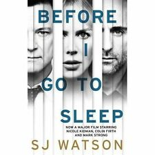 Before I Go To Sleep, Watson, S J, Acceptable Book