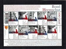 Nederland NVPH 2850-55 Vel Bond Heemschut 2011 Postfris