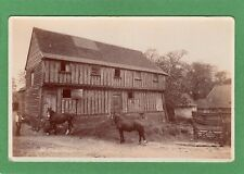 Coval Hall Barn Horses Marconi ? Chelmsford ?  RP pc unused Ref H990