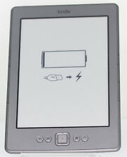 "Amazon Kindle Wi-Fi 6"" E Ink 2GB, - Silbergrau - D01100 B00E** ebook Reader ."