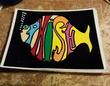 PHISH STICKER COLLECTIBLE RARE VINTAGE 90'S METAL LIVE DECAL