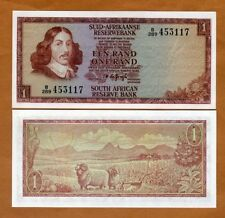 South Africa, 1 Rand, ND (1973), P-116a, UNC > Sheep