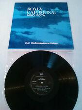 NINO ROTA - ROMA CAPOMUNNI LP N. MINT!!! ORIGINAL ITALY RAI RADIOTELEVISIONE