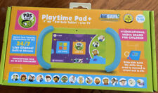 "PBS Kids Playtime Pad + 7"" HD Kid-safe Tablet With Live TV. 8.1 Android Go  New"