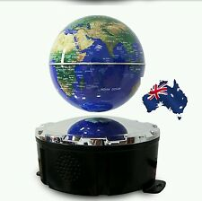 Magnetic Float Globe World Map Wireless USB TF Bluetooth Speaker Stereo Remote