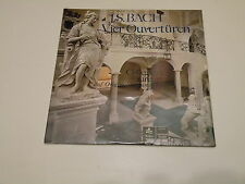 J.S BACH - VIER OUVERTUREN  - LP HARMONIA MUNDI - PARTIALLY SEALED - HMI 73004