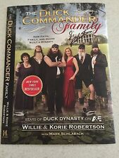 Si Robertson Duck Commander Signed Book Cover Duck Dynasty Autographed