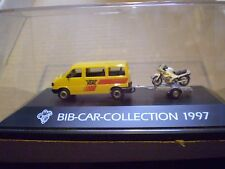 69 Herpa 1/87 Michelin Man Collection 1997 VW  Caravelle + BMW Motorcycle  set