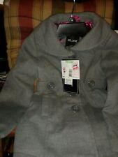 Sears Girls Peacoat Grey Size 4