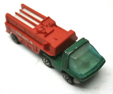 Original 1969 Hot Wheels Redline The Heavyweights Fire Dept Diecast Car Mattel