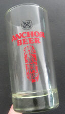 Anchor Beer Glass w/Chinese writing ...   b