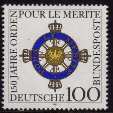 Germania OVEST Gomma integra, non linguellato Stamp Set Deutsche Bundespost ordine al merito 1992 SG 2460