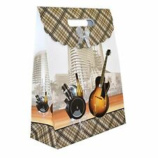 Gift Bags for Mans Classic Birthday Fathers Day Christmas Paper Gift Bag Strong