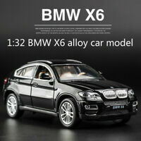 New BMW X6 alloy car model off-road pull back door simulation car Children toys