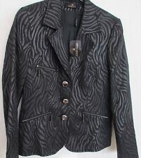 prachtige nieuw donkergrijs vest blazer eugene klein maat BE40 GB12 new +zippers