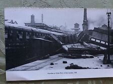 A2e ephemera picture reprint train crash gidea park 1947 london