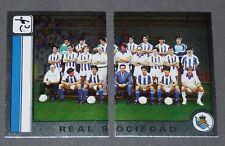 284 285 EQUIPO REAL SOCIEDAD PANINI LIGA FUTBOL 87 ESPAÑA 1986-1987 FOOTBALL