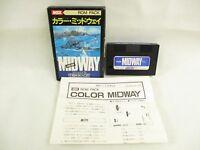 MSX COLOR MIDWAY Item ref/1312 Import Japan Video Game msx