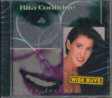 Rita Coolidge Love Lessons CD '92 (SEALED)