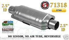 "71318 Eastern Universal Catalytic Converter Standard 2.5"" 2 1/2"" Pipe 12"" Body"