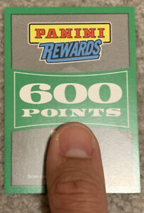 600 PANINI REWARDS POINTS - UNUSED 2020 Redemption