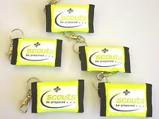 10 Scout CPR Key ring pouches
