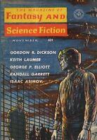 1961 Fantasy and Science Fiction November-Asimov; John Updike - Cosmic Gall